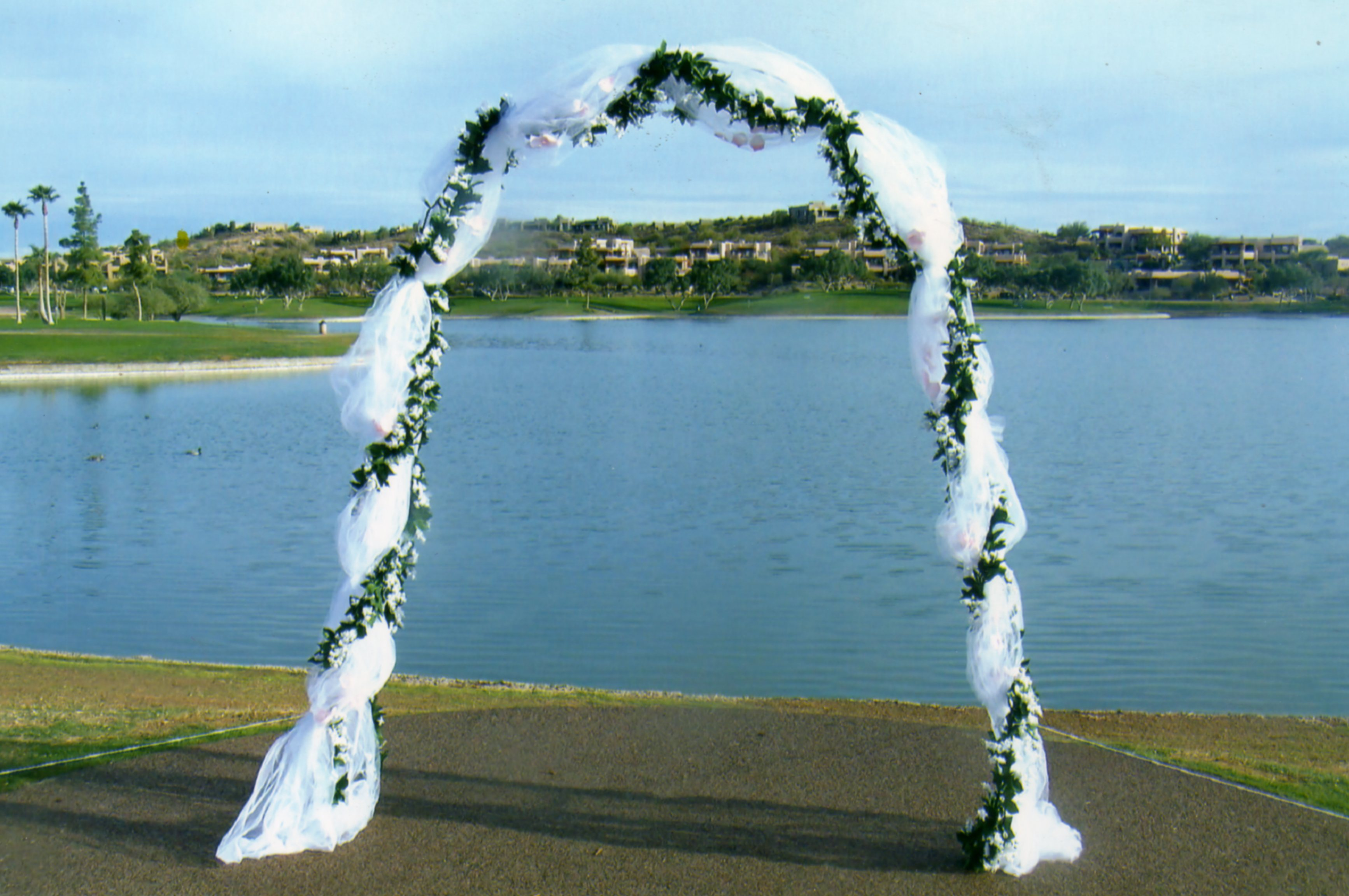 Decorating a wedding arbor with tulle how to decorate a wedding arch